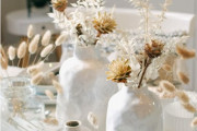 στολισμο γάμου στα λευκα