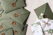 Πρασινο προσκλητηριο γαμου