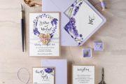 Προσκλητήριο Γάμου Λεβάντα