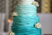 tiffany_color_wedding_cake_elcreations
