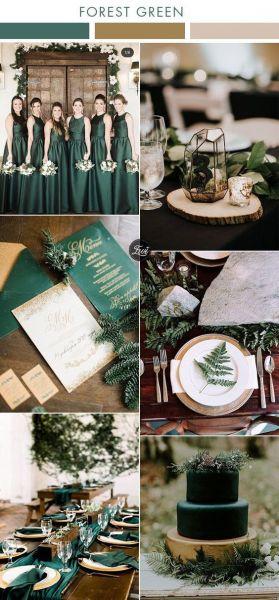 Πρασινες Αποχρωσεις για γάμο