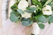 Λευκο και πράσινο χρωμα γαμου
